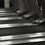 treadmills side by side